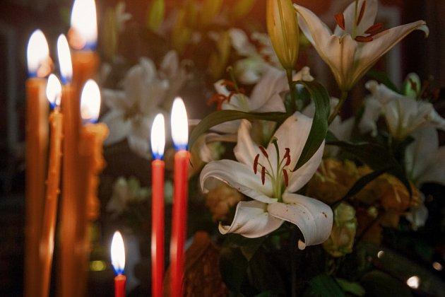 Lilie je symbolem čistoty