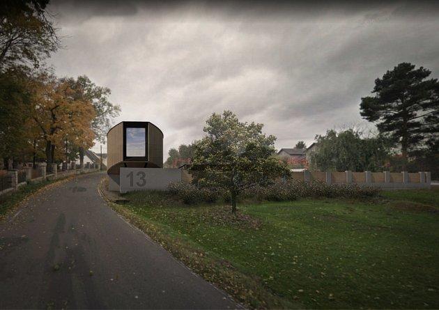Postmoderní pojetí barokní architektury v Čechách vycházející z krajinného reliéfu a hranice intravelánu obce