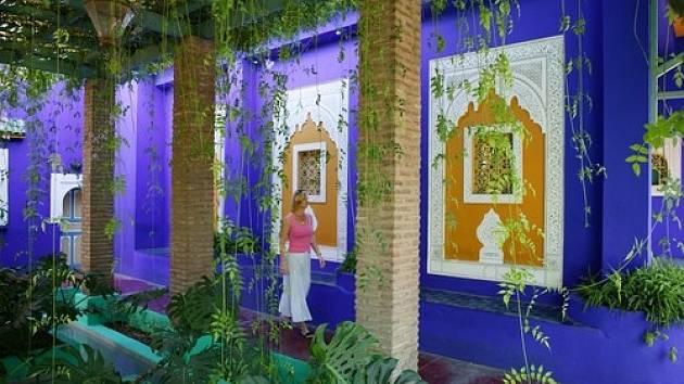 Jardin Majorelle, Marrakech, Maroko