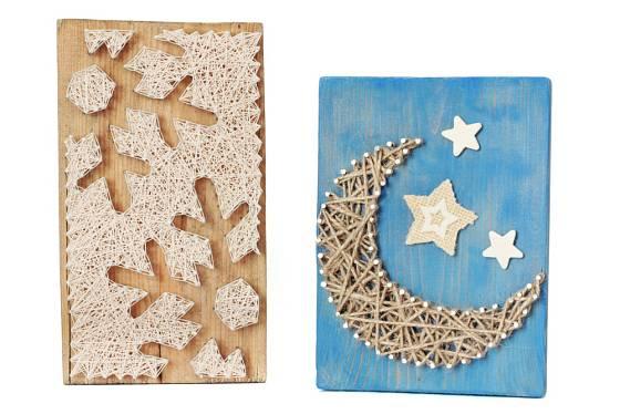 Hvězdy nebo sněhové vločky jsou možná trochu složitější, ale zato velmi efektní.