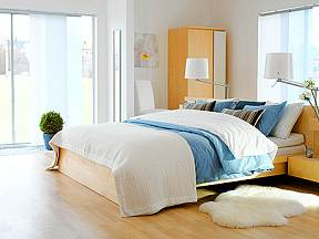 pokrývky, ložnice