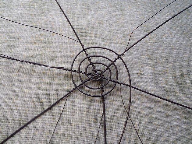 Výroba drátěného košíku