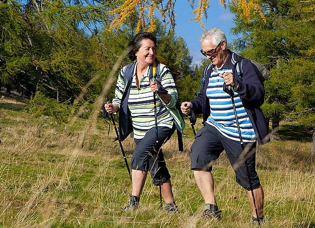 Severská chůze čili nordic walking