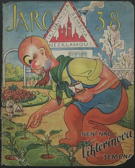 Zahradnické katalogy z doby první republiky