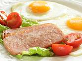 Luncheon meat a volské oko