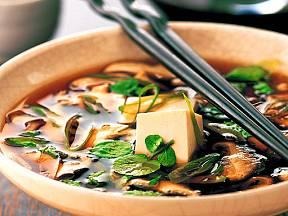 Japosnká polévka miso