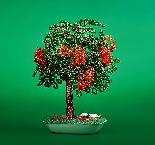 strom z korálků
