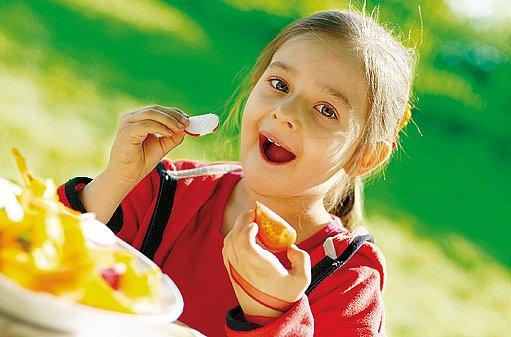 děti potřebují vitamíny