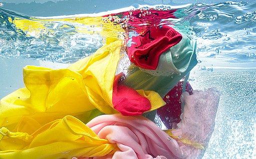 praní v dešťové vodě