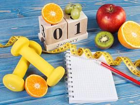 K nejčastějším novoročním předsevzetím patří hubnutí.
