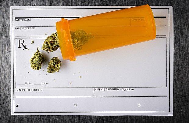 marihuana na lekářský předpis