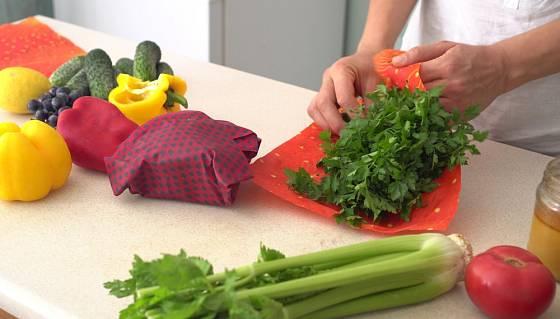 Zabalíte do nich zeleninu