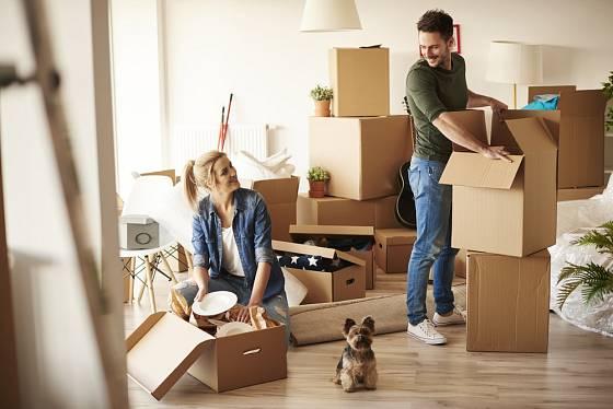 Stěhování do nového domu přináší potěšení