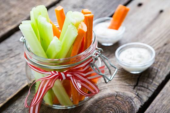 Zelenina dodá vitamíny a vlákninu, tvaroh bílkoviny