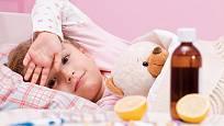 Ke snížení teploty a proti bolestem se užívá kyselina acetylsalicylová