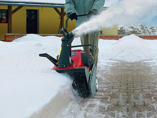 Jednostupňová fréza zpracovává pouze čerstvý sníh