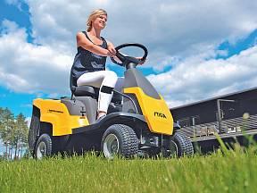 traktorová sekačka