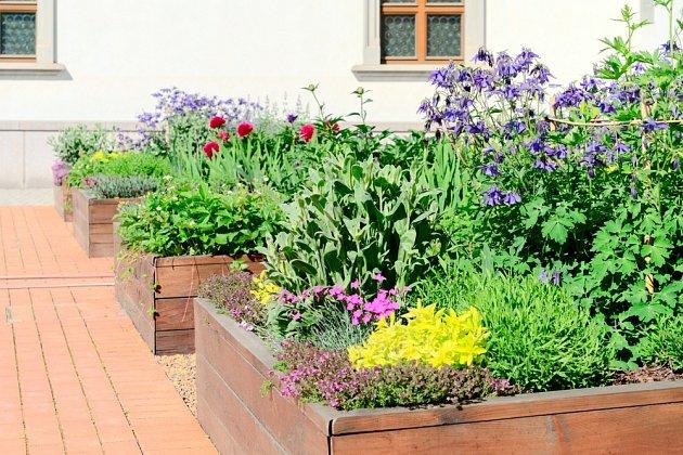 Vyvýšené záhony jsou vhodné nejen pro zeleninu, ale i pro květiny