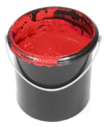 kyblík s barvou
