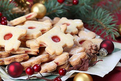 linecké cukroví k vánocům prostě patří