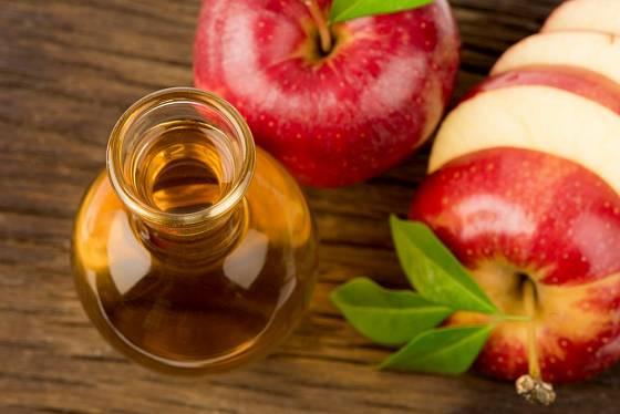 Jablečný ocet je osvědčený prostředek
