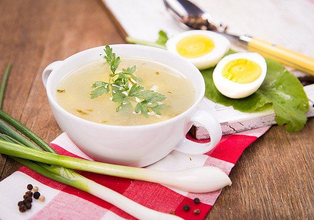 Žloutková polévka