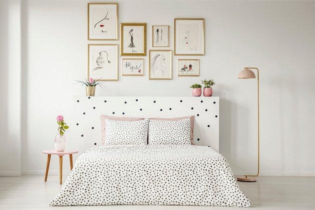 Čisté a uklizené prostředí napomáhá ke kvalitnímu spánku.