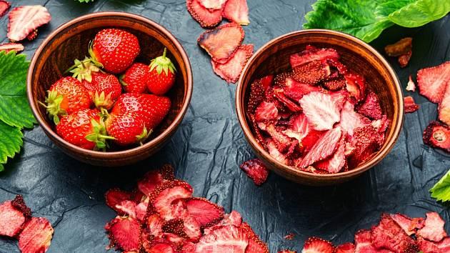 Jak sušit jahody