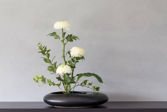 Pro aranžování v tomto stylu je možné využít i některé alternativní rostliny.