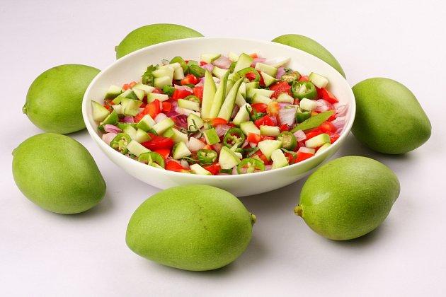 Tenhle salát je hotový hned a v Mexiku bývá častou přílohou.