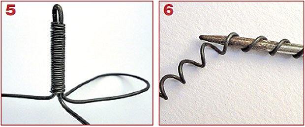 postup výroby podložky