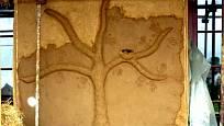 reliéf v interiéru