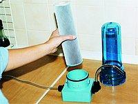 Uhlíkový filtr pro úpravu pitné vody