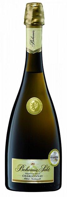 Bohemia Sekt Prestige brut Chardonnay ročník 2013