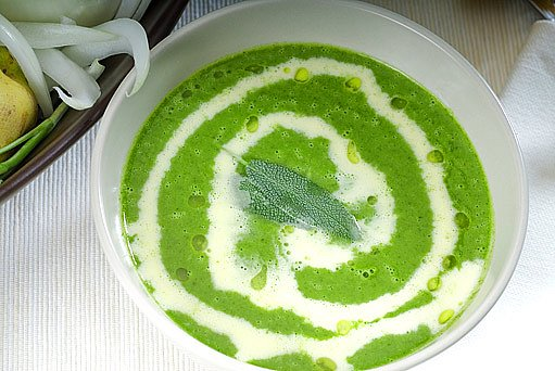 bylinková polévka