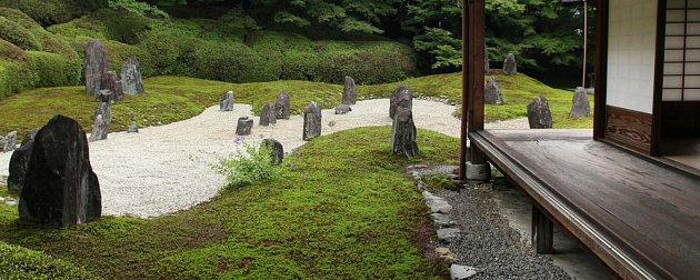 Zenová zahrada Komyo-in