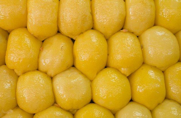 Citrony jsou nakládané mimo jiné v soli. Jde o marockou specialitu.