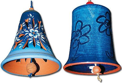 ukázka zvonečků ze zbírky