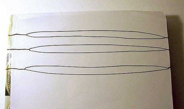 Postup výroby ozdobné spirály