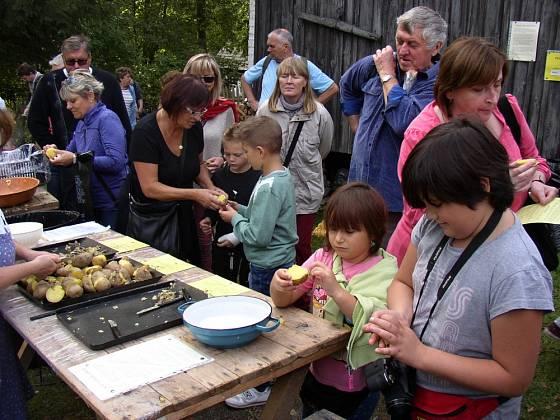 Tradiční ochutnávka brambor.