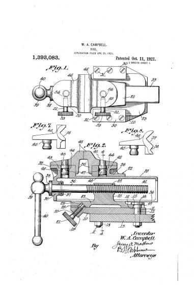 patent z roku 1921