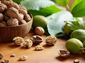 Vlašské ořechy.