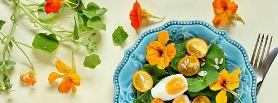 Využít můžeme listy i jemněji chutnající květy lichořeřišnice