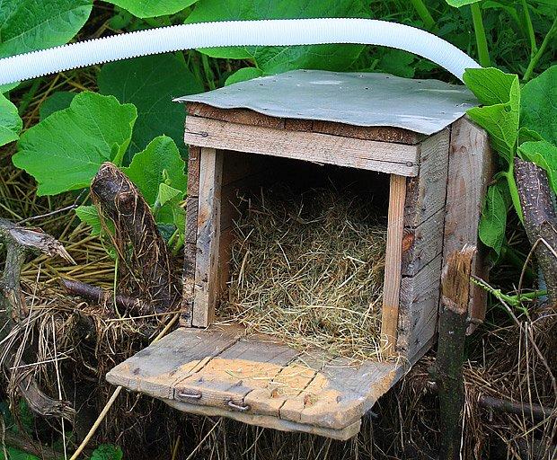 domeček pro ježka
