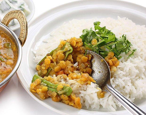 indický talíř