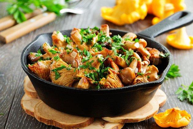 Lišky jsou pro podzimní kulinaření jako stvořené