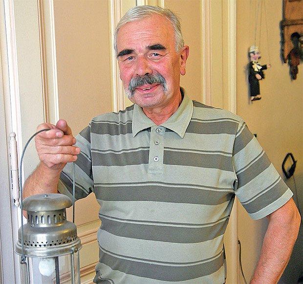 sběratel Vladislav Dočkal
