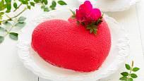 Srdcový dort může mít mnoho podob