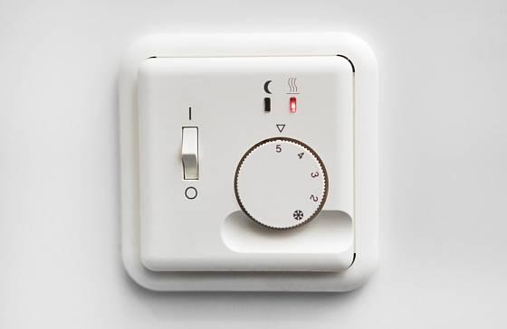 Ideální regulaci vytápění nám zajistí termostat.