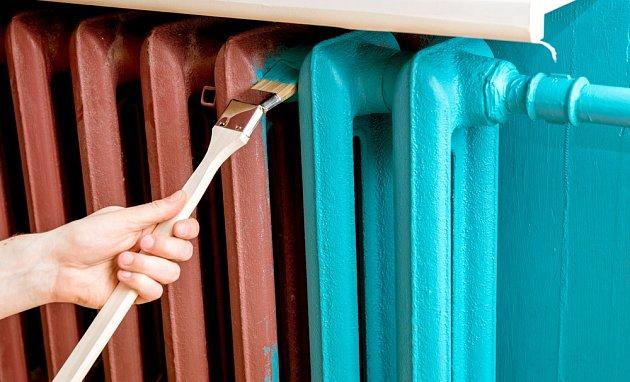 Radiátor změní barvu